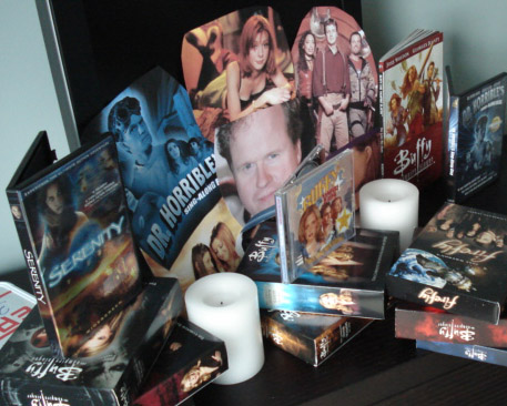 Joss Whedon shrine 2