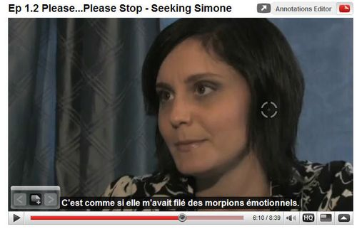 Seeking Simone Ep 2 French subtitles