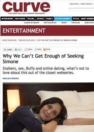 Seeking Simone Curve Magazine