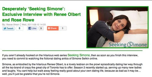 SheWired Interview Seeking Simone