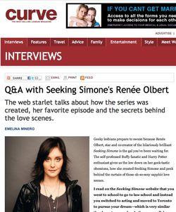 Renee olbert curve magazine