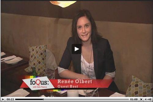 Renee guest hosts FoQus